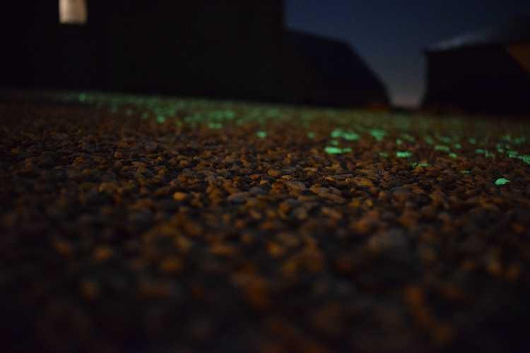 Réalisation d''unBéton phosphorescent 11