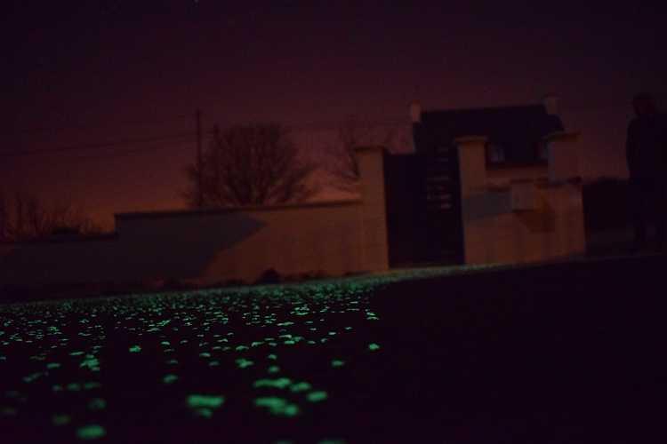 Réalisation d''unBéton phosphorescent 9